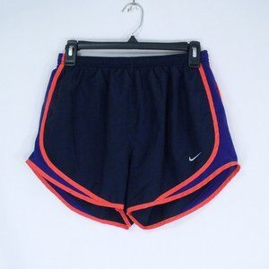 Nike Blue and Coral Temp Running Shorts M